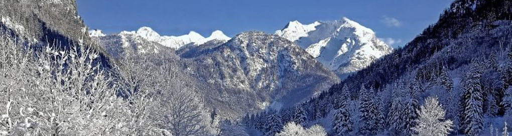 Bild Alpen Winter